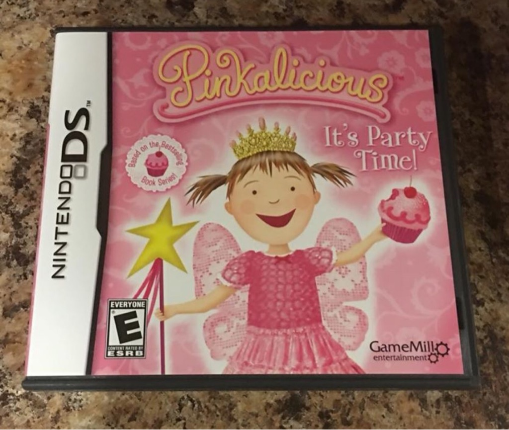 Pinkalicious, it's Party Time! Ds game