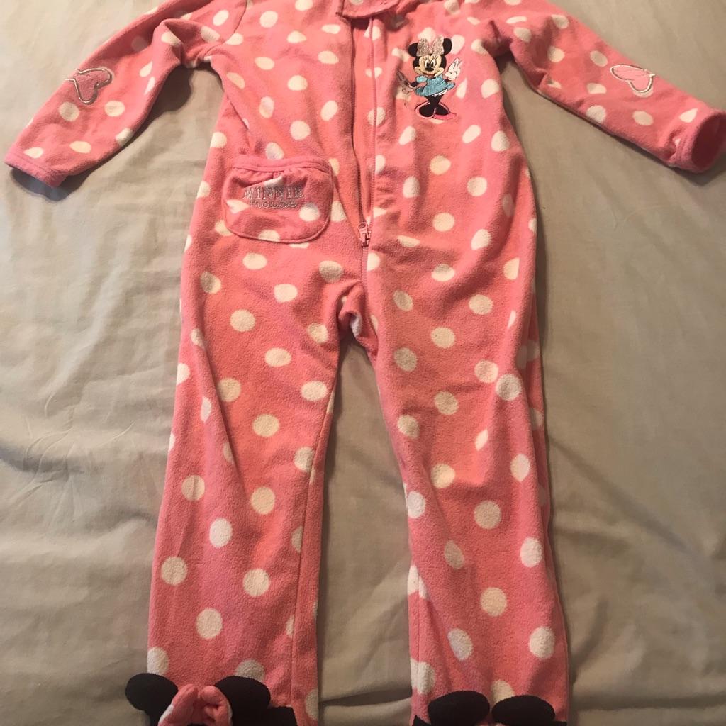 Minnie Mouse onesie 2-3