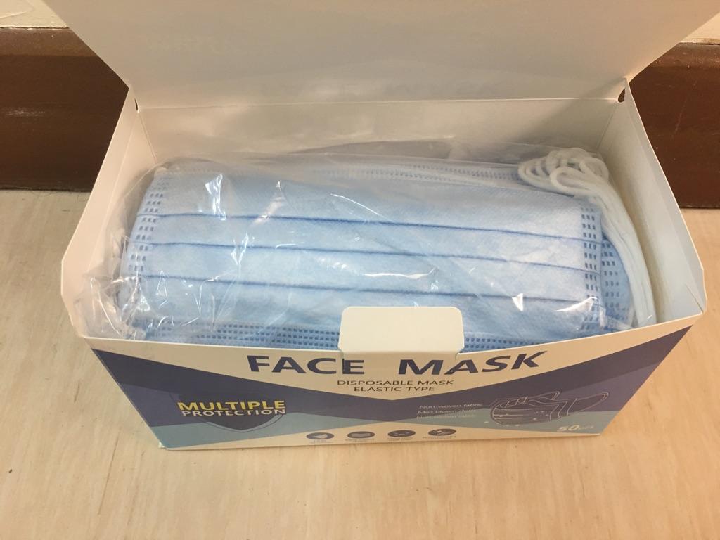 50pcs 3ply mask