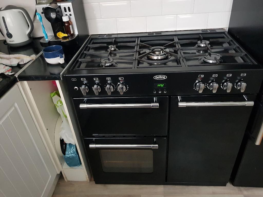 Double black belling cooker