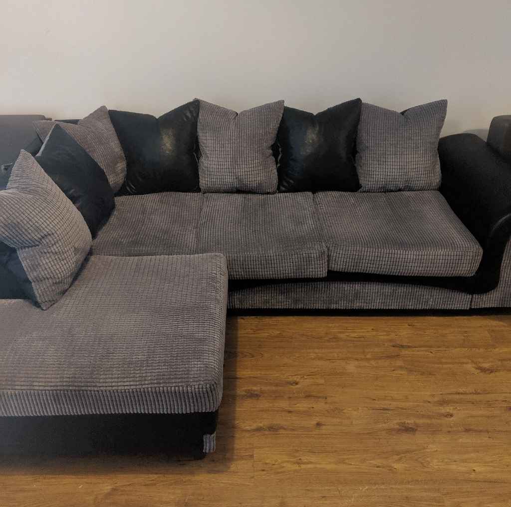 Aston Fabric Right-hand Corner Sofa
