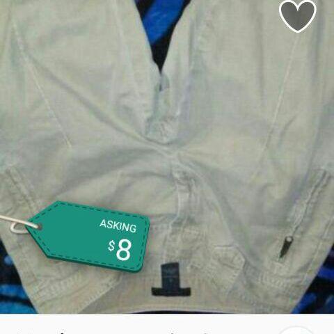 Beige dress slacks size 8