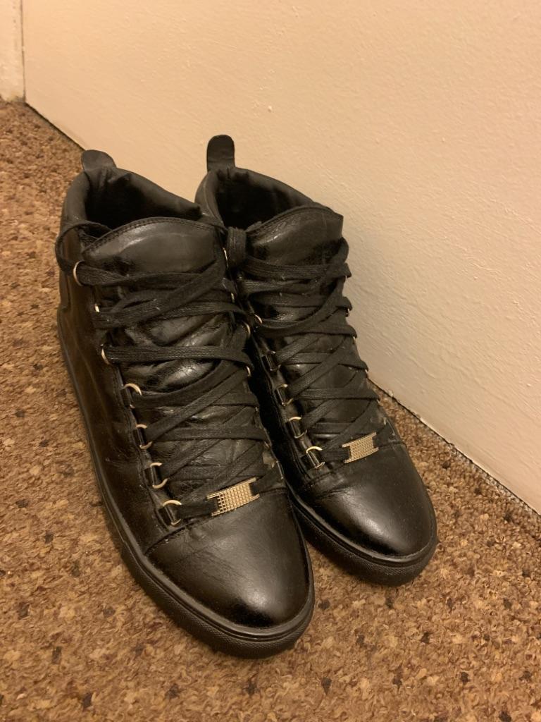 Balenciaga Arena High Top Sneakers (Size 10)