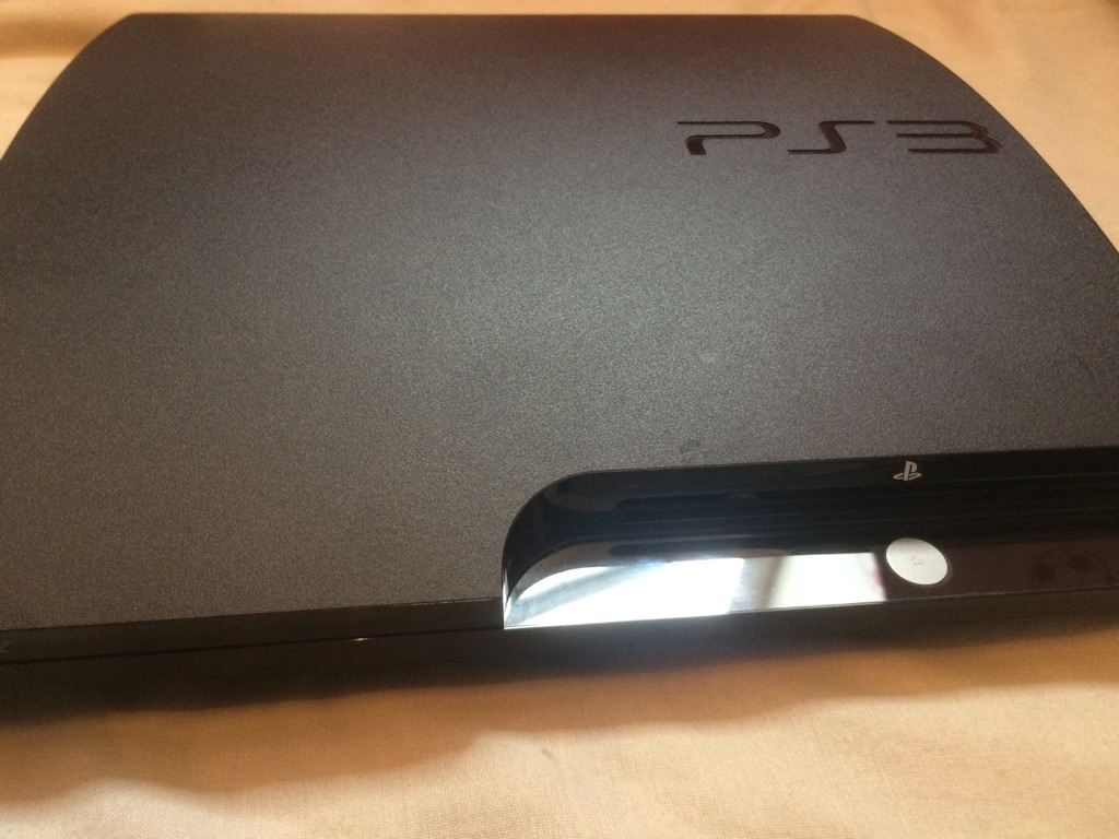 PS3 slim jailbroken