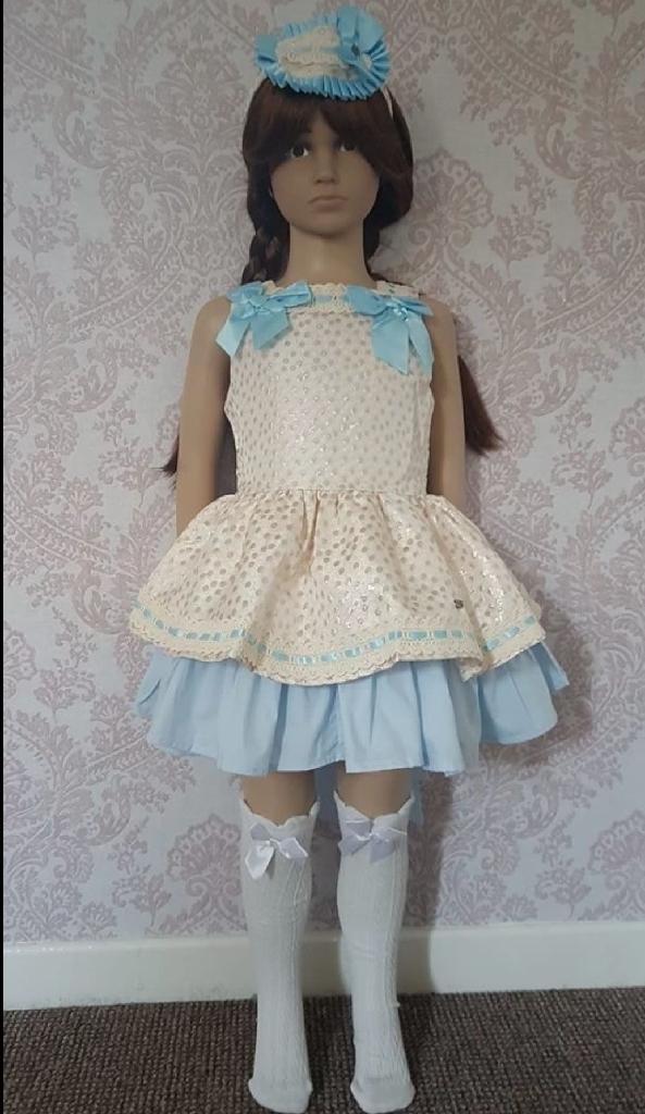 Age 10 spanish dress/headband