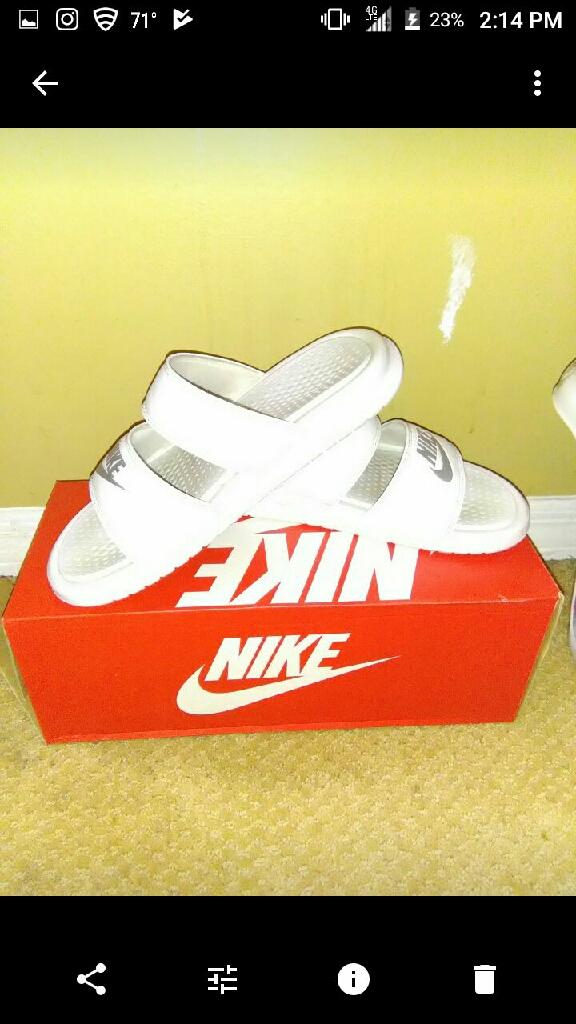 Nike duo slide