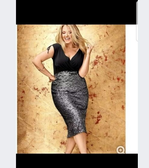 Lane Bryant sequins
