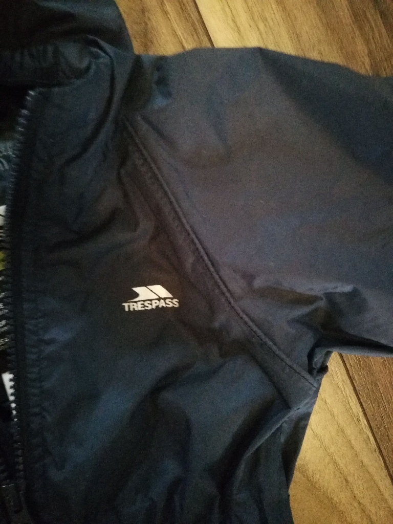 Trespass all in one rain suit