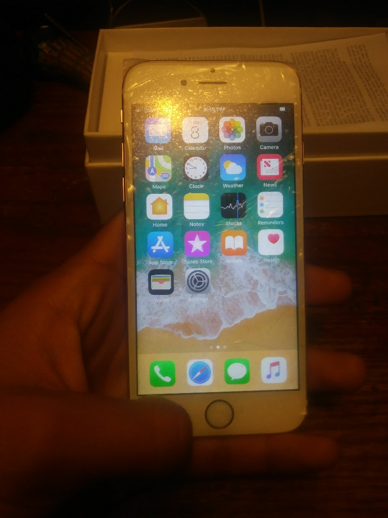 Iphone 6S Rose Gold Sprint