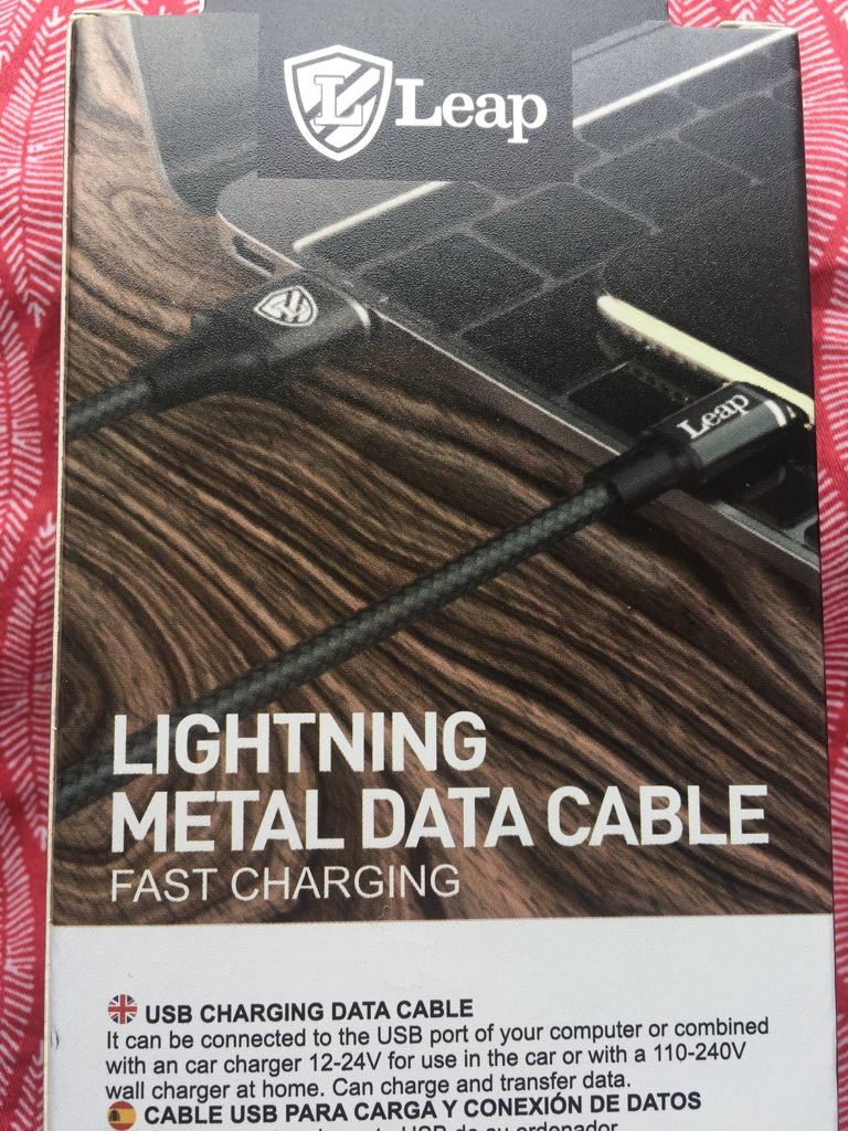 iPhone charger cable.. 1 mtr long cable..