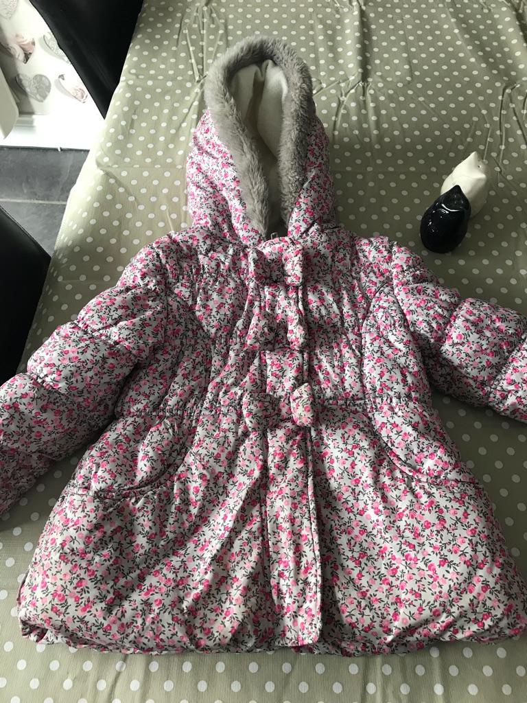 Jo jo maman Bebe gilet and floral coat