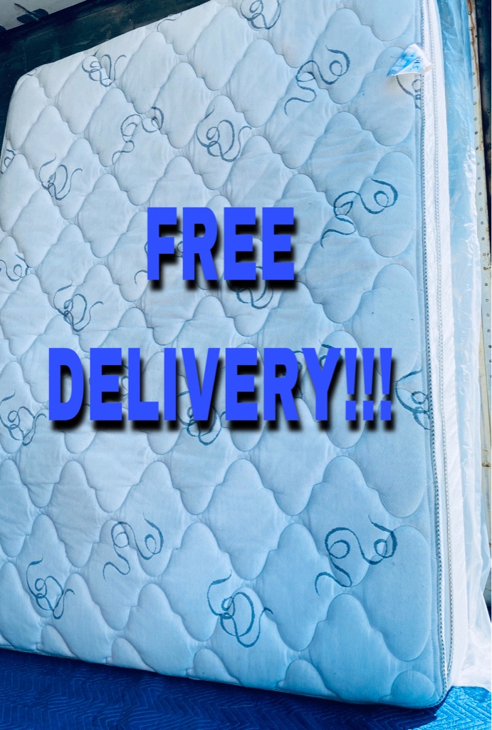 Queen Mattress and Boxspring FREE DELIVERY!!'