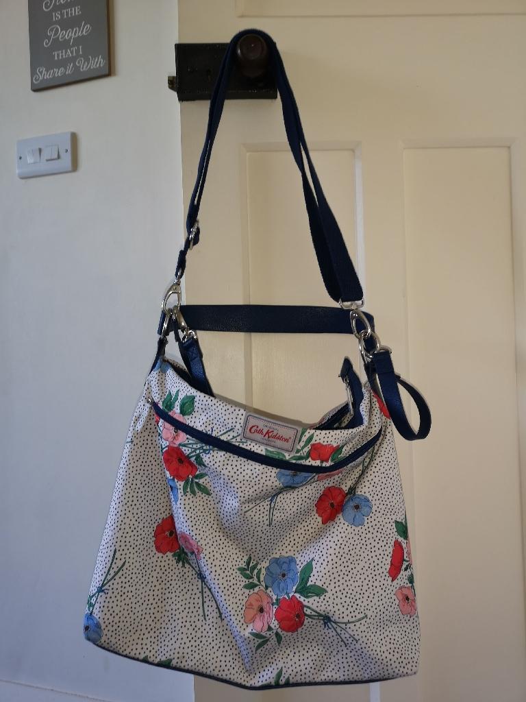 Cath Kidson nappy bag.