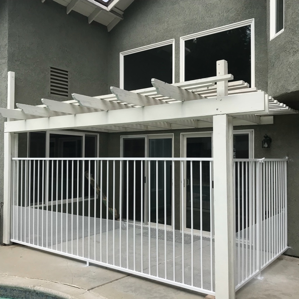 Se hacen gates,fences y soldadura en general