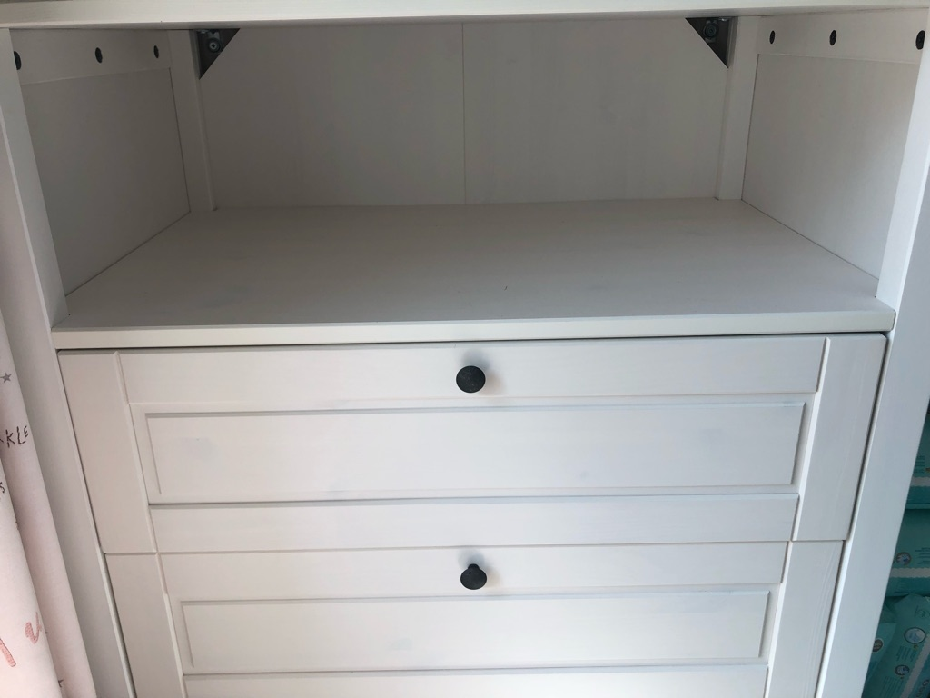 IKEA brand new changing table with chests of drawers