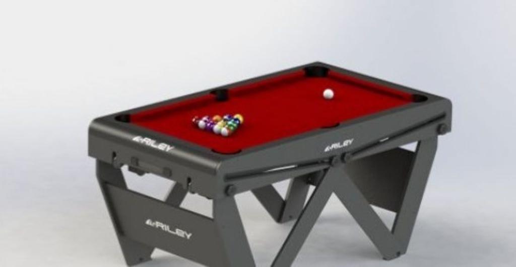Genuine Riley 5 foot foldable pool table