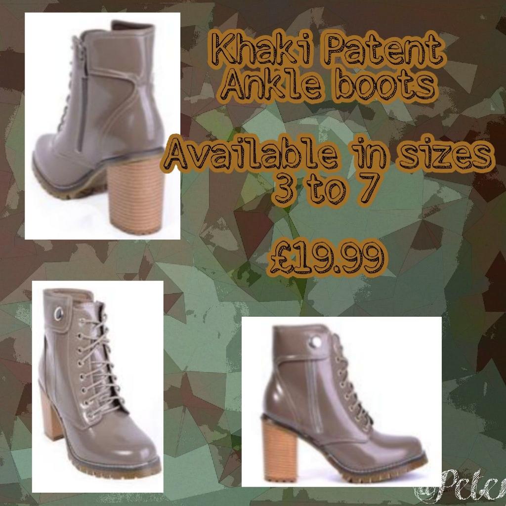 New footwear in Stock