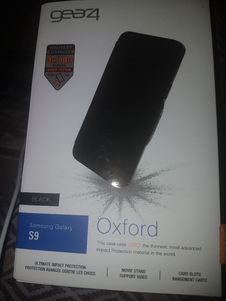 Gear 4 Samsung Galaxy s9 case