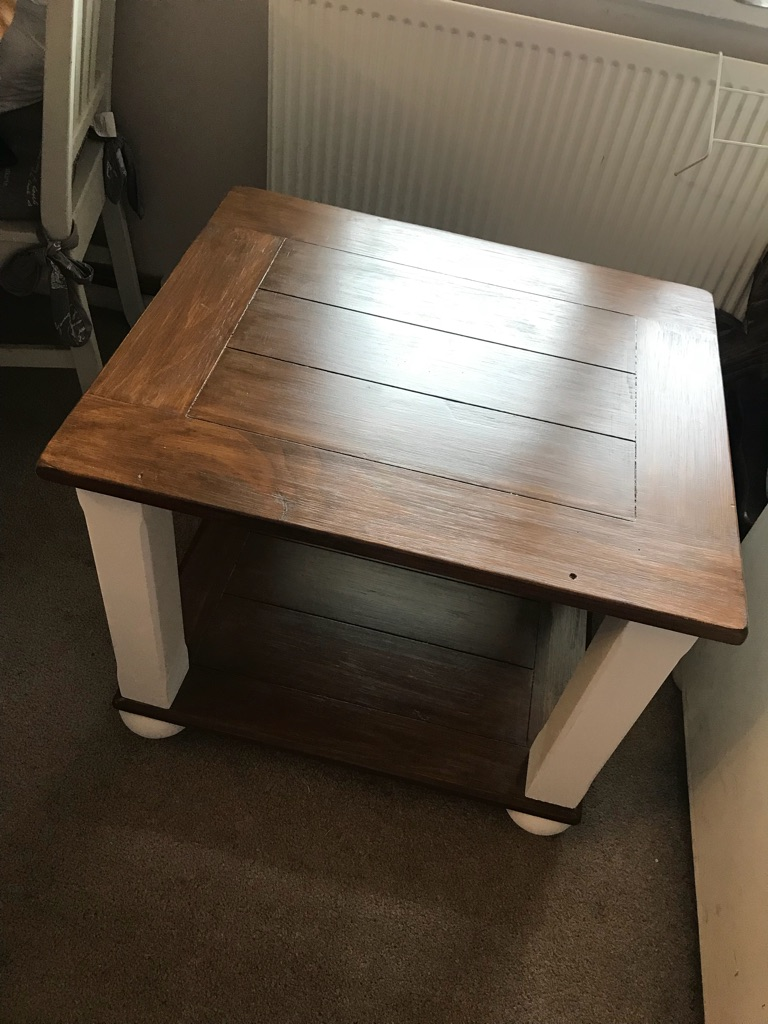 Coffee side table refurbished