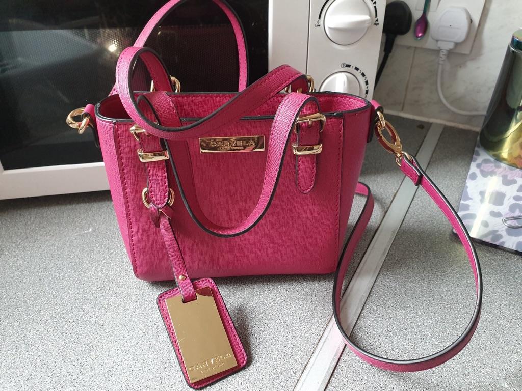 Pink Carvella handbag