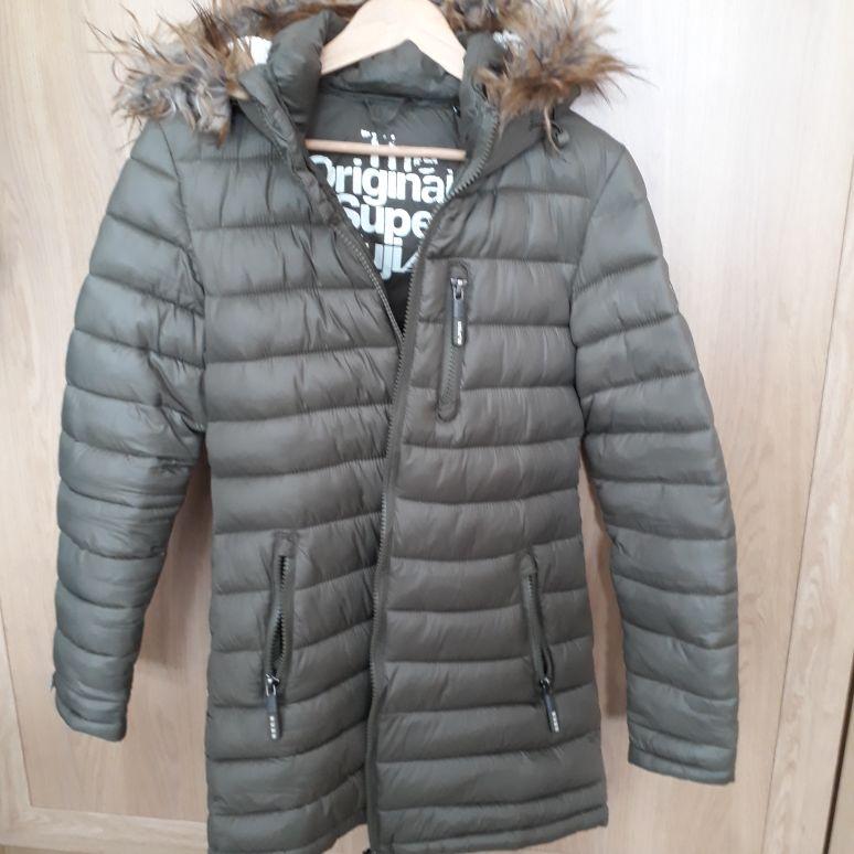Ladies Superdry Winter Coat (Medium)