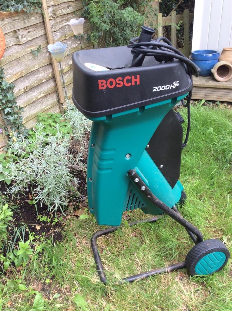 Bosch 2000 hp Garden Shredder