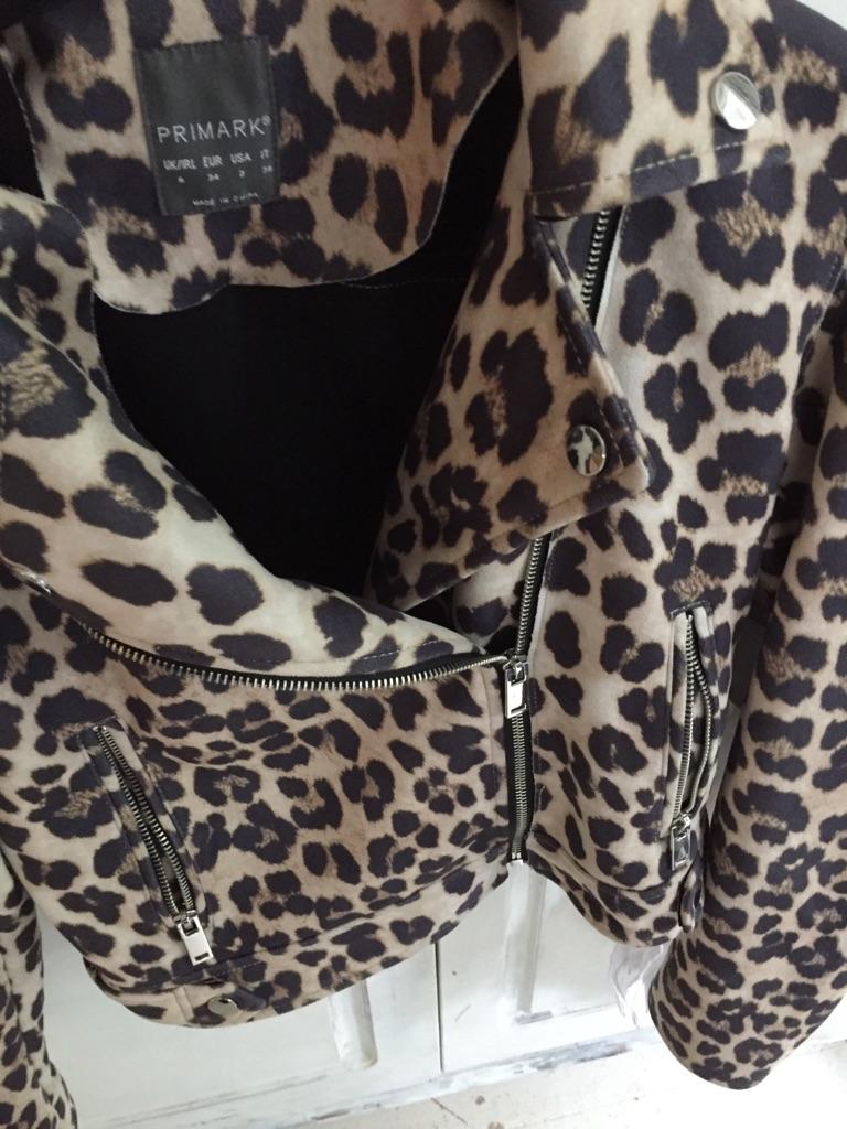 Animal print jacket