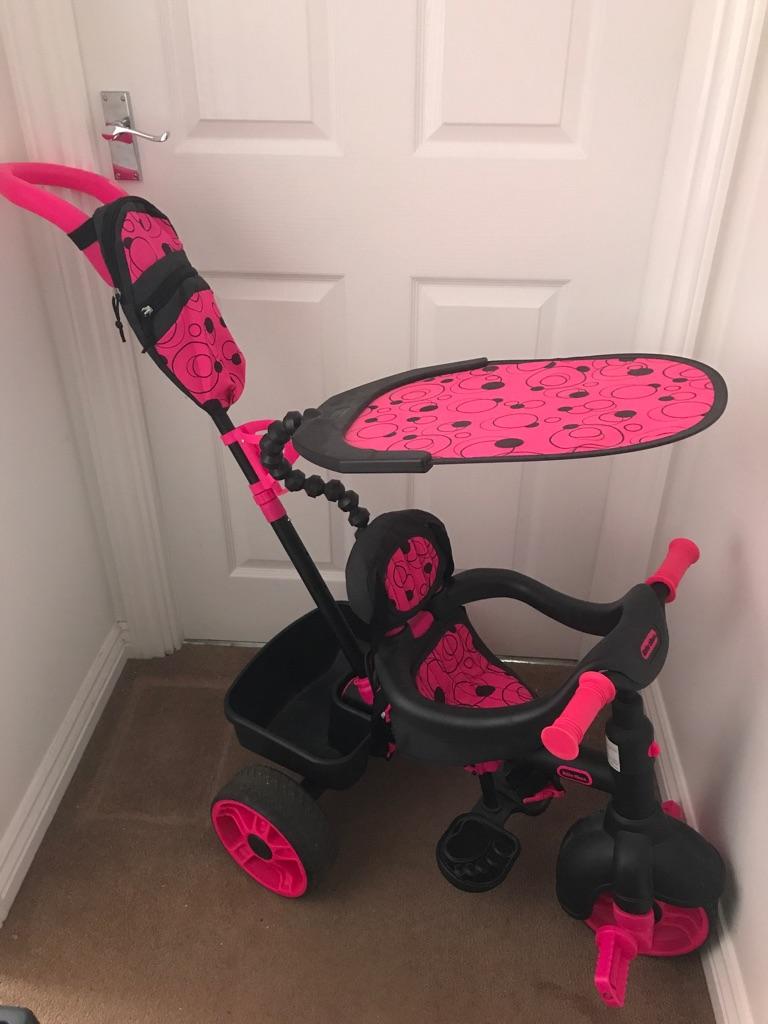 Smart Trike 4 in 1 Neon pink