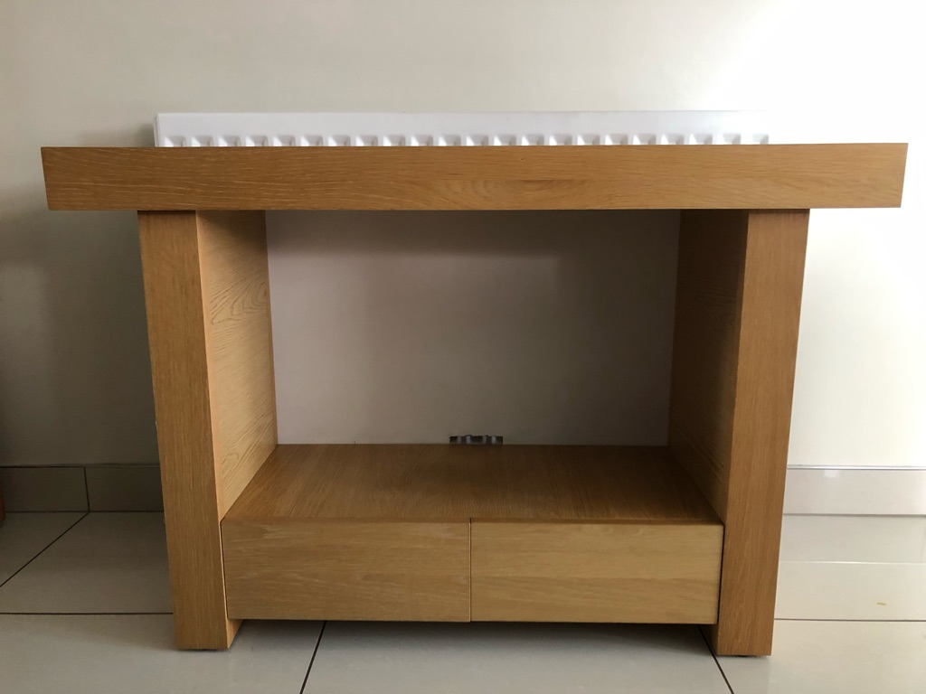 Solid Wood Beech Display Table