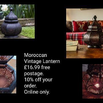 💥Moroccan Vintage Lantern