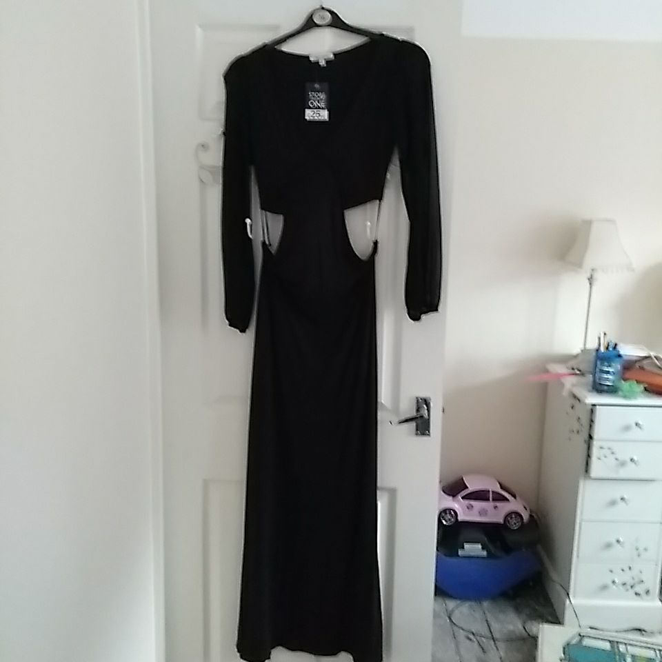 New with tags black maxi dress