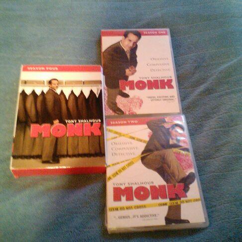 Monk seasons 1 2 4