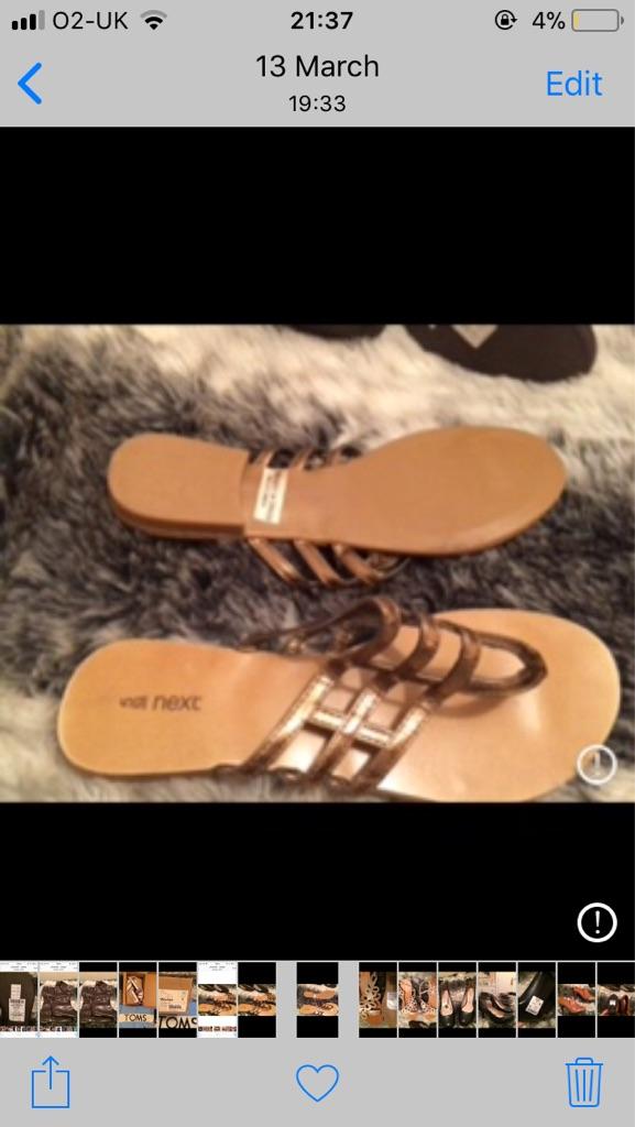 Next sandals brand new size 5 £10