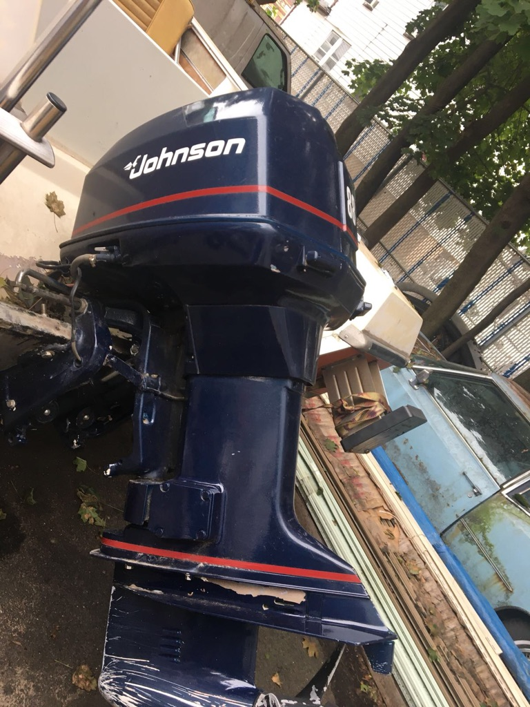88 HP Johnson Outboard Motor