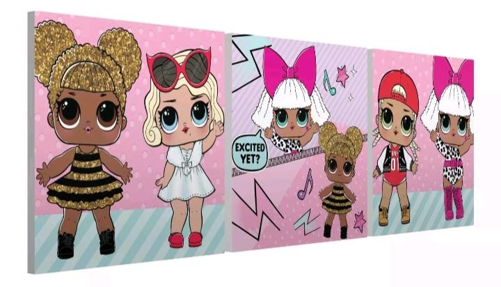 LOLS DOLLS CANVASES