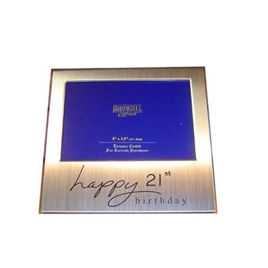 Happy 21st Birthday Photo Frame