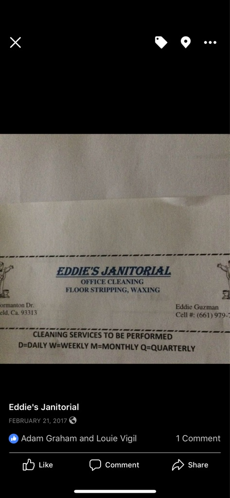 E & F Cleaning services