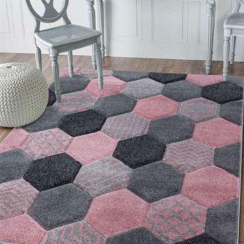 Chicago Hexagon - Blush Pink