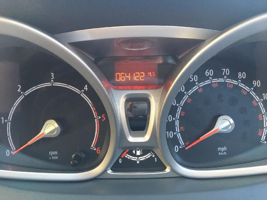 Ford fiesta zetec 1.6 tdci