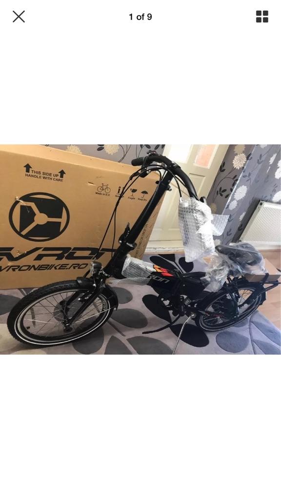 """Folding E-Bike Devron 20124 20"""""""