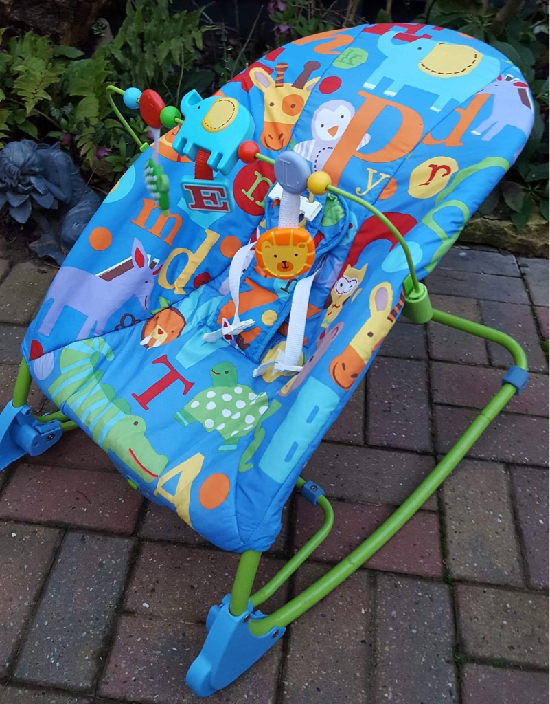 Animal and letter rocker chair