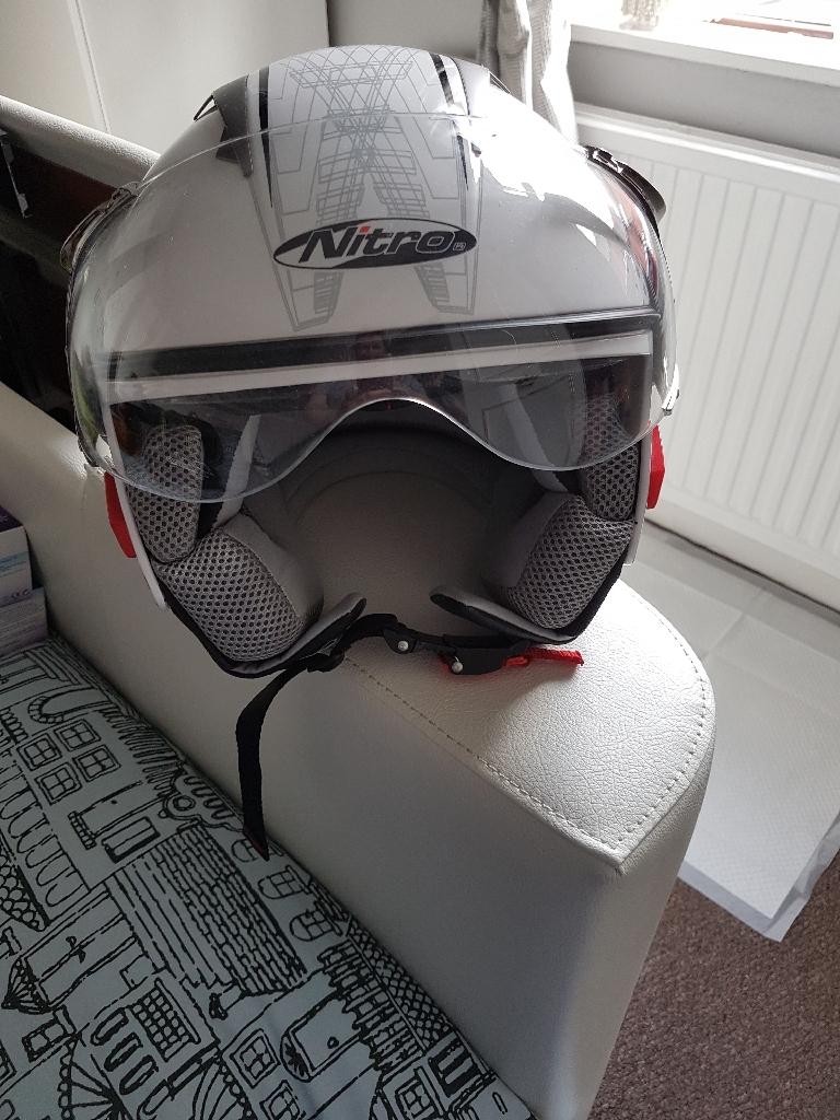 Nitro Helmet Open Face