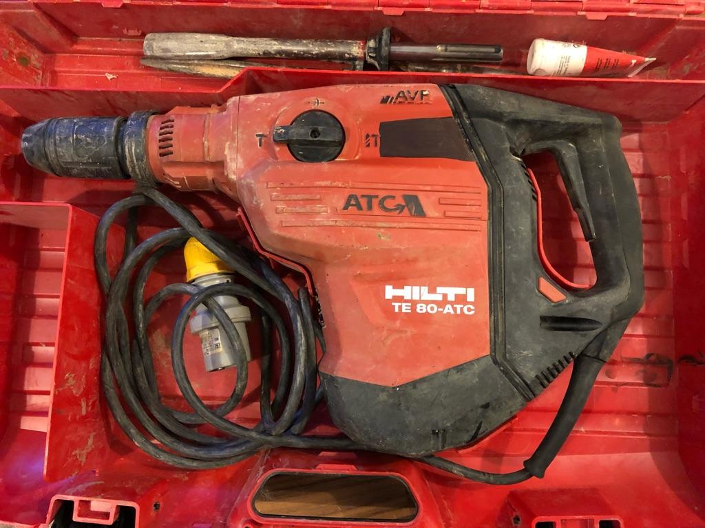 HILTI Breaker/Drill Model TE 80-ATC/AVR
