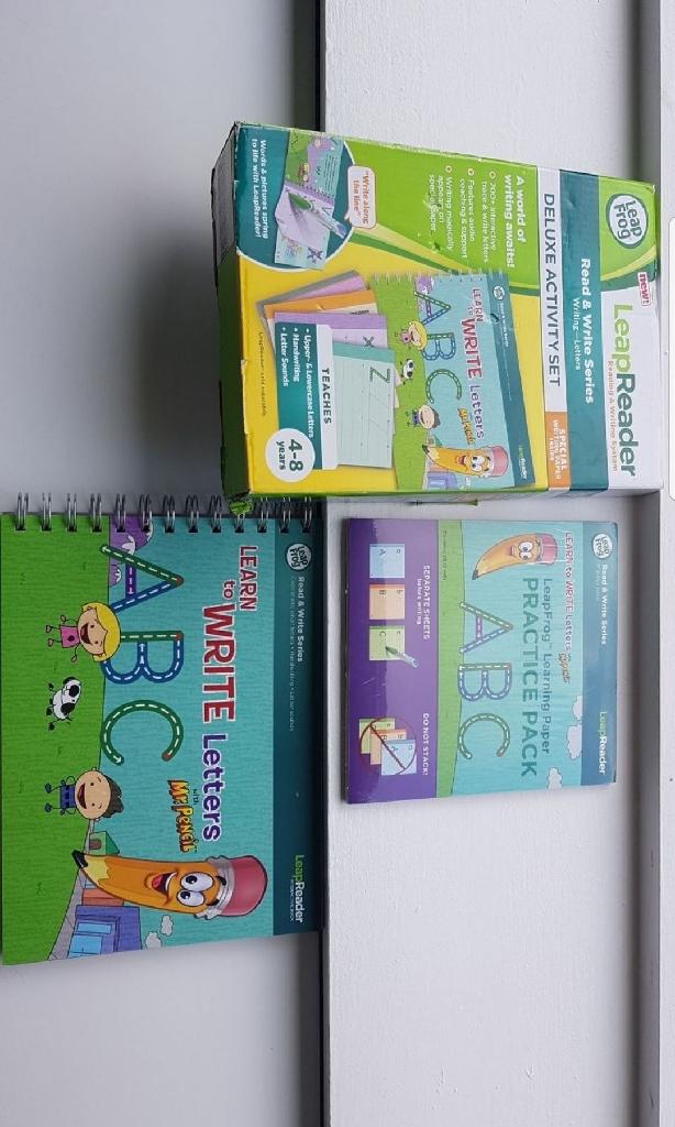 Leap reader activity set