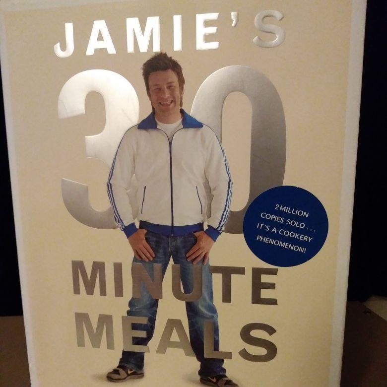 Jamie's 30 minute meals cookbook