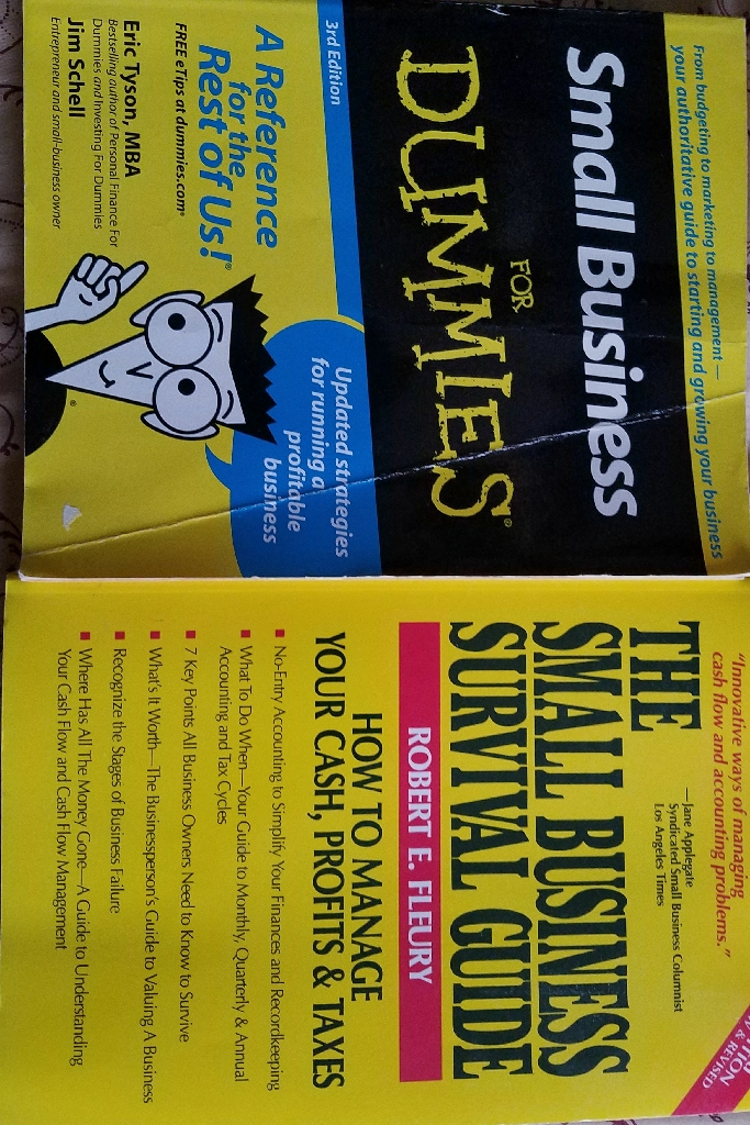 Lot of 2 small business books