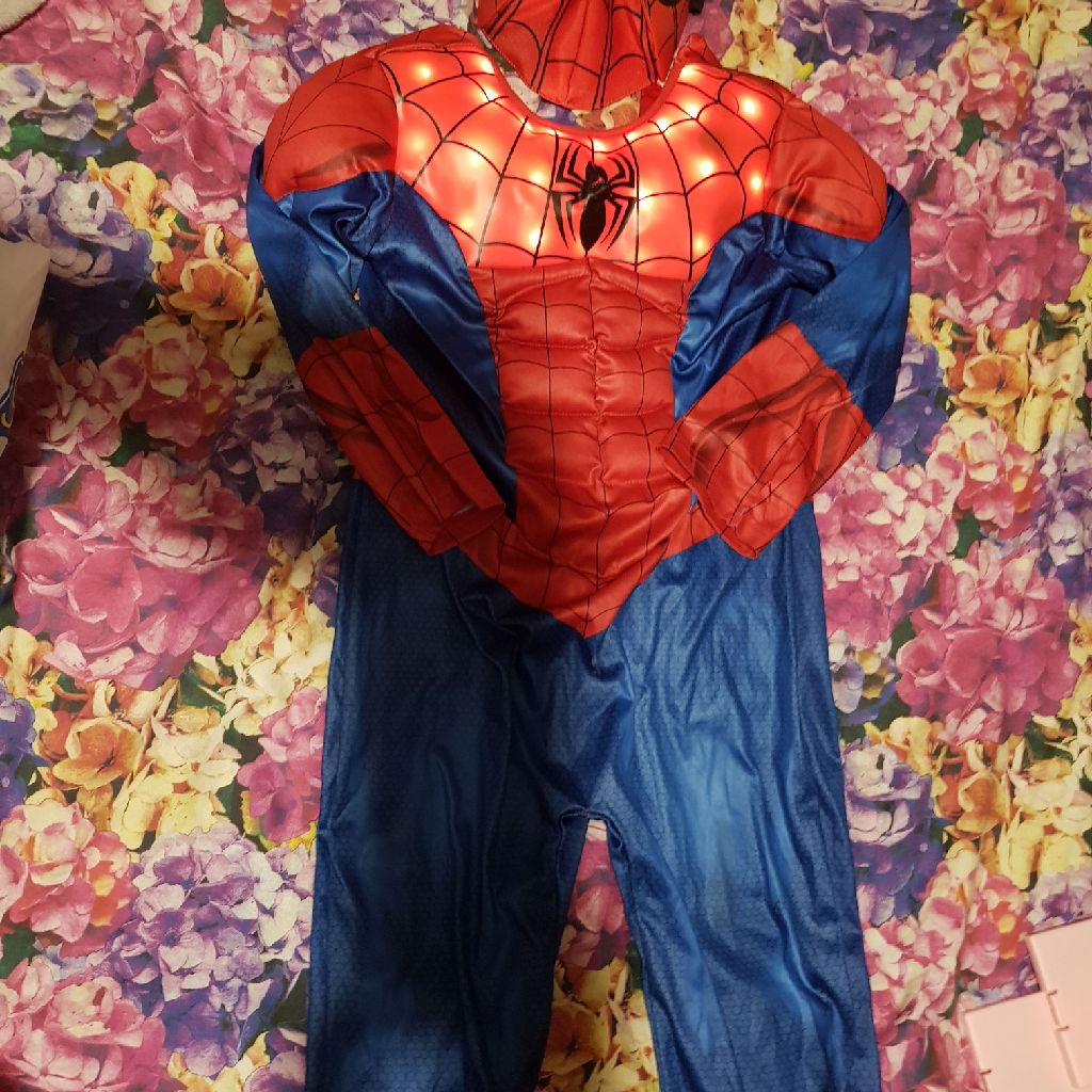 Spider-Man mask and costume