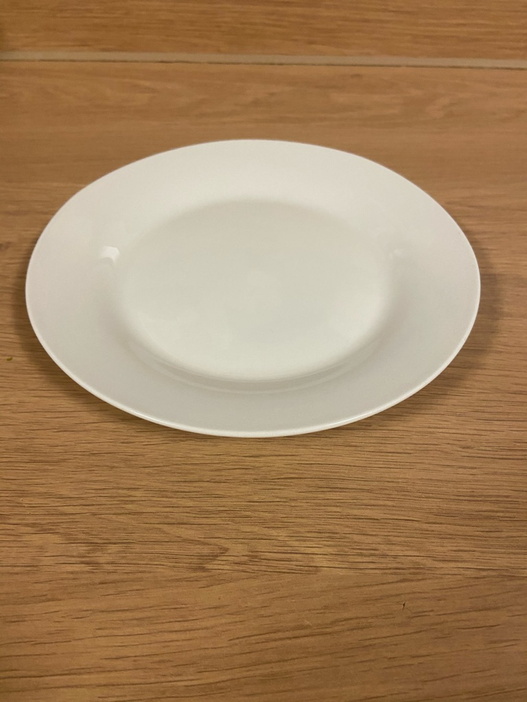 White/Beige plate/s (individual or pack of 3)