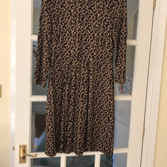 Hobbs Animal print dress