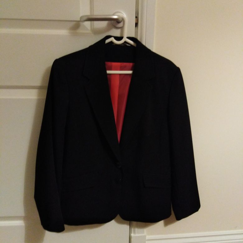 Black jacket with lining